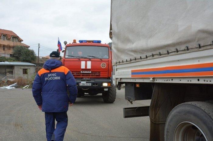 Гумпомощь в Карабах доставлена в полном объеме.