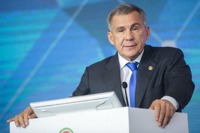 Президент Татарстана ответил на вопросы журналистов
