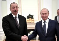 Путин поздравил Ильхама Алиева с днем рождения