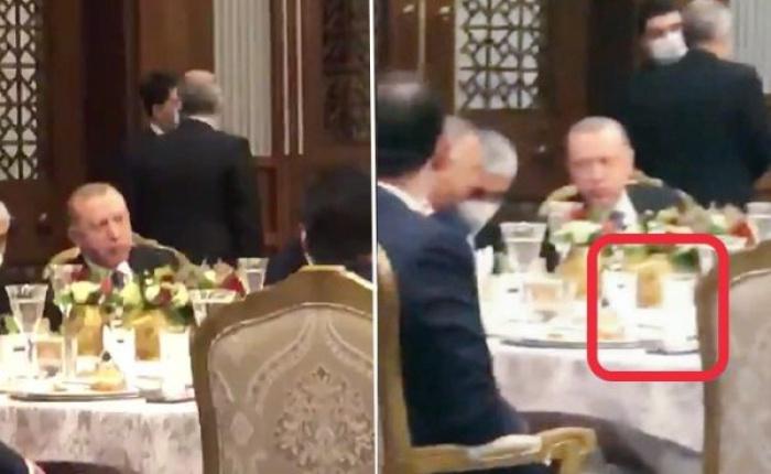 Эрдоган отобедал за столом с алкоголем и вызвал волну возмущения.
