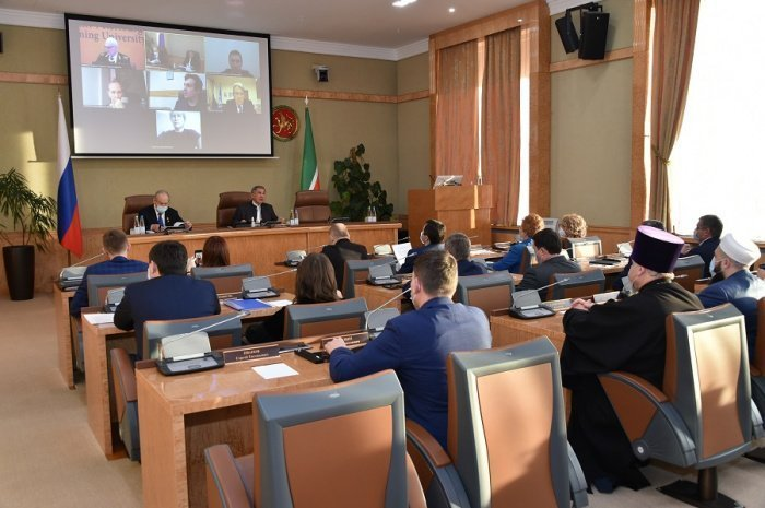 Камиль Самигуллин принял участие в совещании с президентом Татарстана