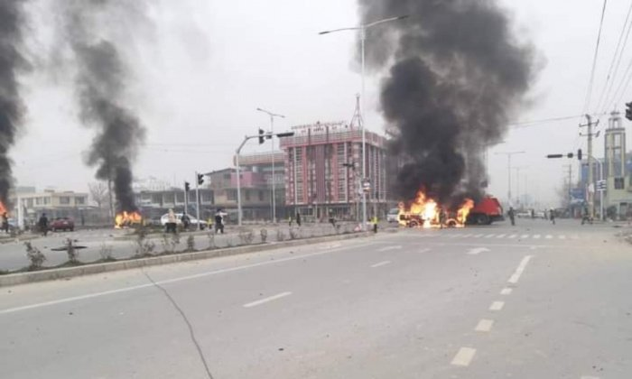 В столице Афганистана прогремели сразу четыре взрыва.