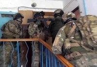 Опубликовано видео задержания террористов в Дагестане
