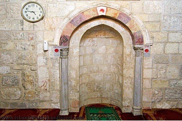 Михраб мечети Салах ад-Дина
