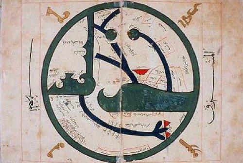 Карта Абу Зайда аль-Балхи (850-934)