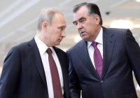 Путин и Рахмон подтвердили настрой на наращивание взаимодействия