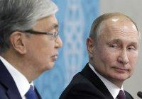 Путин и Токаев обсудили производство российской вакцины от коронавируса