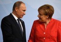 Путин и Меркель обсудили совместное производство вакцин от коронавируса