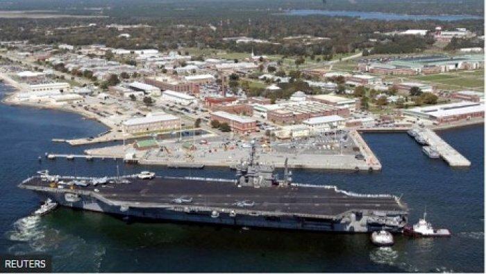 База ВМС США Пенсакола. (Источник фото: bbc.com)