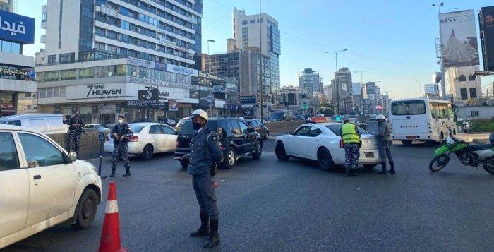 Режим полной самоизоляции начал действовать в Ливане.