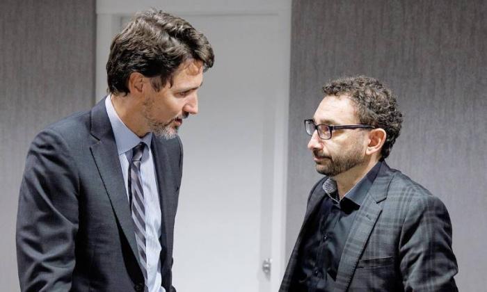 Джастин Трюдо и Умар Альгабр.