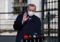 Эрдоган рассказал о самочувствии после прививки от коронавируса