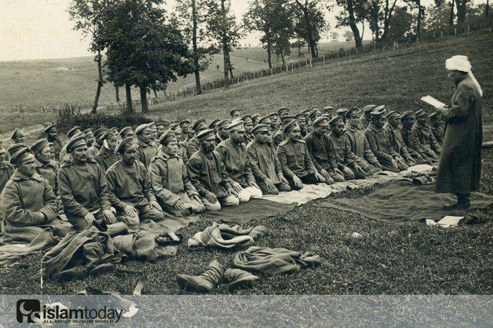 Мусульмане в первой мировой войне. (Источник фото: yandex.ru)