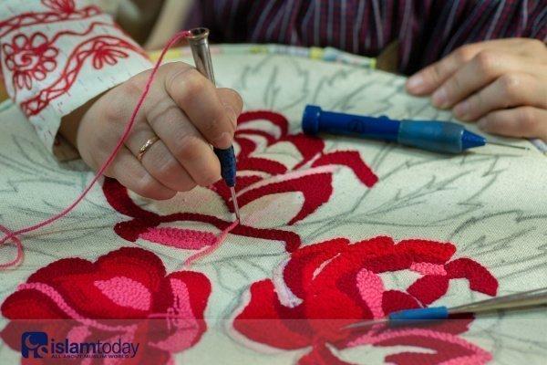 Татарские мотивы в вышивке (Источник всех фото в статье: google.com)