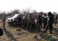 В составе ликвидированной в Чечне группировки оказались боевики с Украины