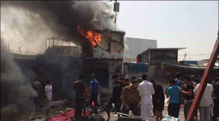 В центре Багдада прогремели сразу два взрыва.