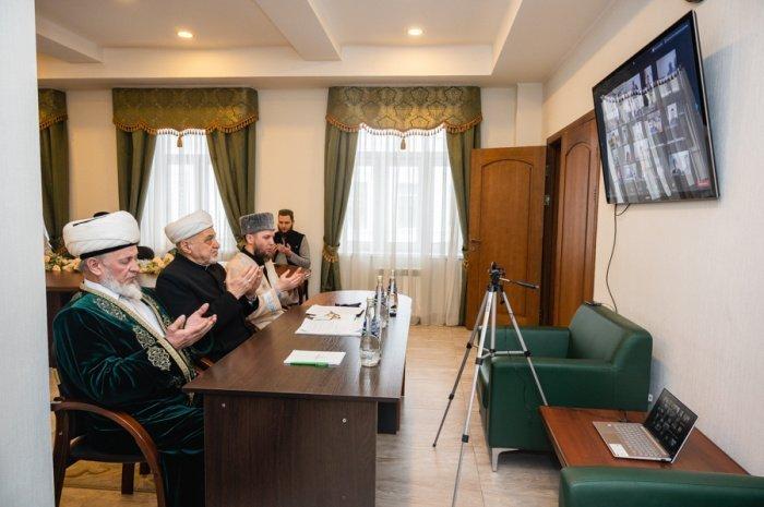Заседание Совета аксакалов прошло на платформе Zoom.