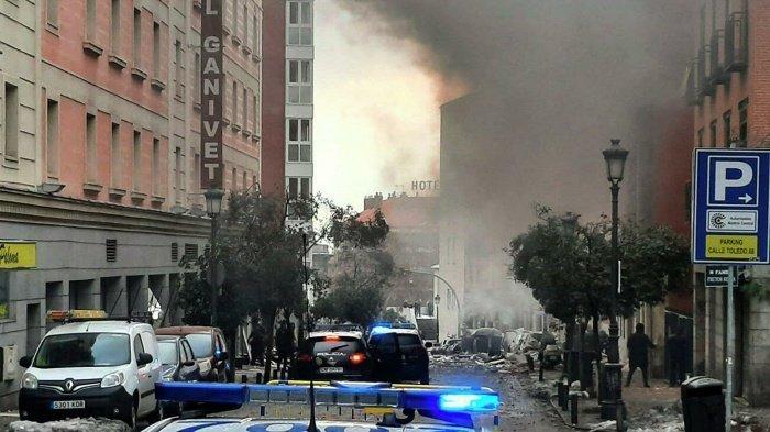 Священник, раненный при взрыве в Мадриде, скончался в больнице.
