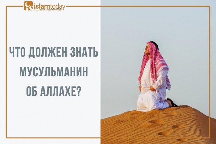 Что должен знать каждый мусульманин об Аллахе. (Источник фото: freepik.com)