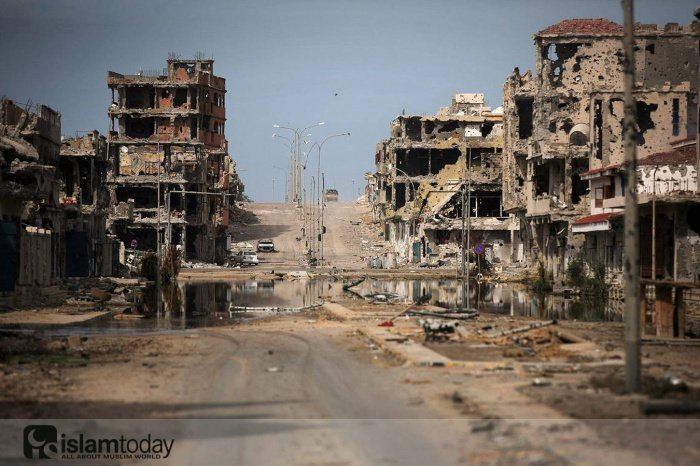 Разрушения в Ливии. (Источник фото: yandex.ru)