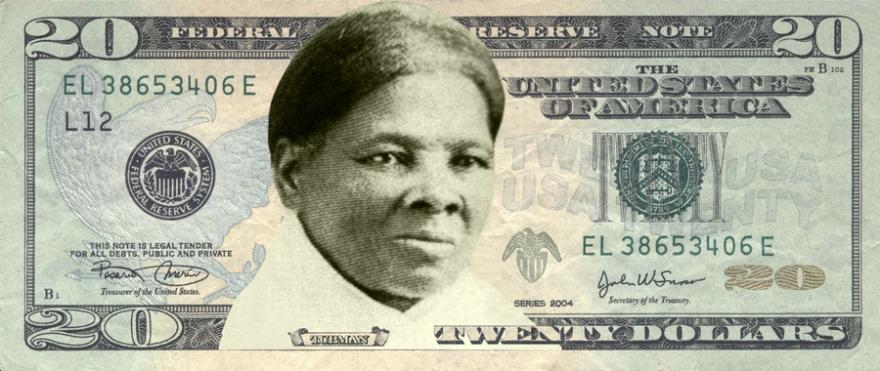 Портрет темнокожей активистки появится на 20-долларовой купюре.