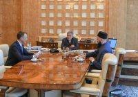 Минниханов встретился с муфтием РТ и новым ректором Болгарской исламской академии