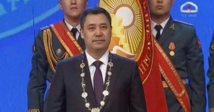 Садыр Жапаров официально вступил в должность президента Киргизии.