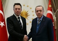 Эрдоган обсудил с Илоном Маском сотрудничество по космосу