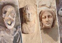 В Египте нашли мумии с золотыми языками