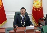 Жапаров призвал чиновников Киргизии не вешать его портреты в кабинетах