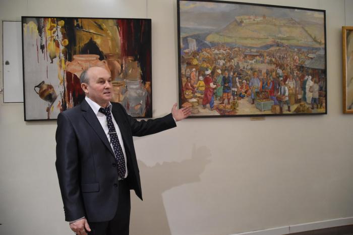 12 казанских минаретов, многонациональная Казань и Сабантуй – каким увидел Татарстан художник Финат Набиуллин?