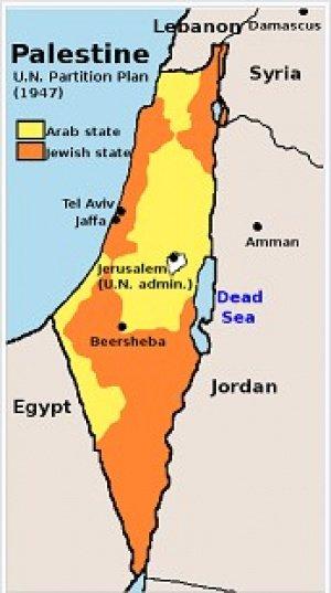 План ООН по разделу Палестины