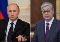 Путин и Токаев обсудили коронавирус и производство «Спутника V»
