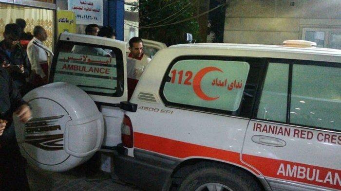 Мощное землетрясение произошло в Иране.