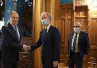 Лавров и Педерсен обсудили итоги «астанинской» встречи по Сирии в Сочи