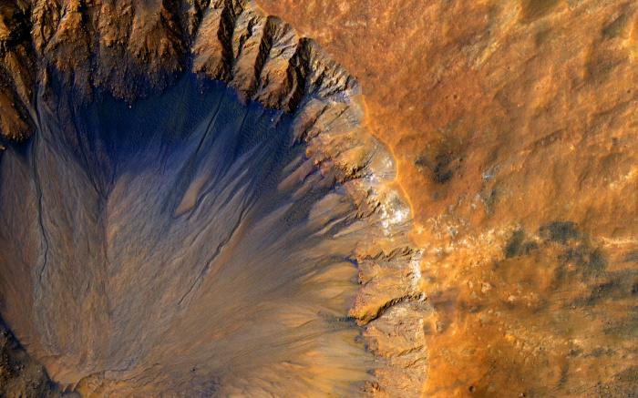 Аппарат совершил посадку в кратере Езеро (Jezero) (Фото: unsplash.com)