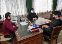 Муфтий Камиль хазрат Самигуллин находится с рабочим визитом в Елабуге