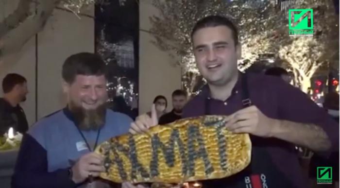 Бурак Оздемир и Рамзан Кадыров.
