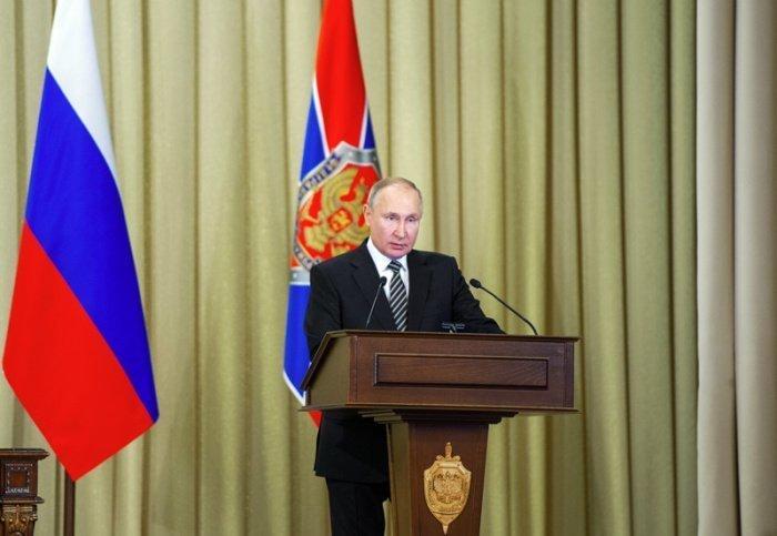 Президент РФ подвел итоги 2020 года в части борьбы с терроризмом.