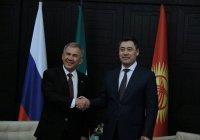 Минниханов встретился с президентом Киргизии