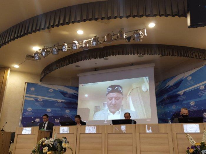 Альбир хазрат Крганов выступил на заседании Общественных палат РФ и РТ.