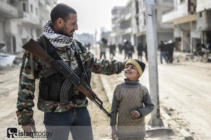Какое будущее ждет детей боевиков? (Источник фото: yandex.ru)