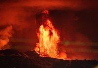 Зафиксировано усиление активности вулкана Этна