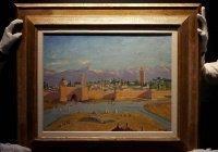 Картина Черчилля с изображением мечети ушла с молотка за рекордную сумму