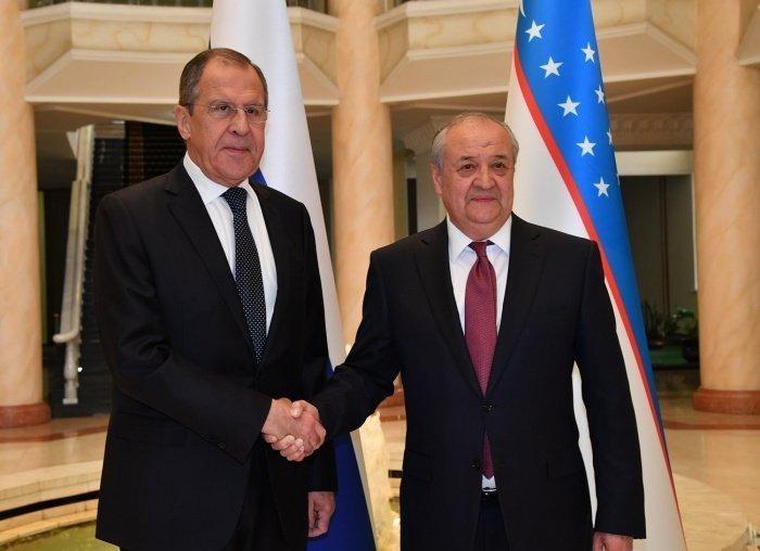 Лавров и Камилов провели переговоры в Москве.