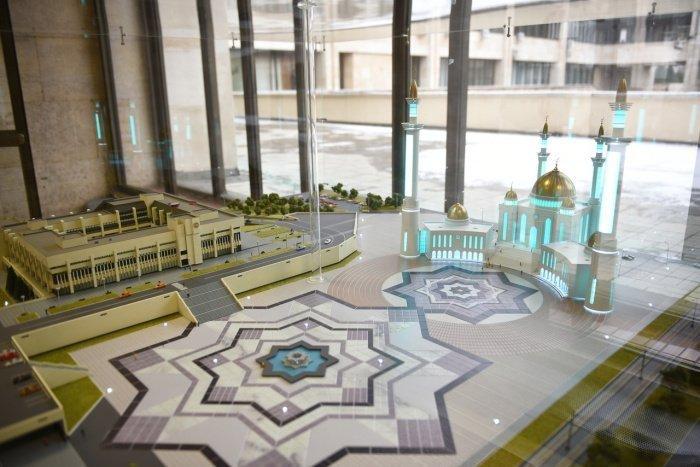 Проект мечети.