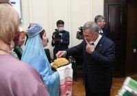 Минниханов встретился с татарами Бурятии