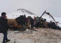 Военный вертолет разбился в Турции, погибли 11 человек