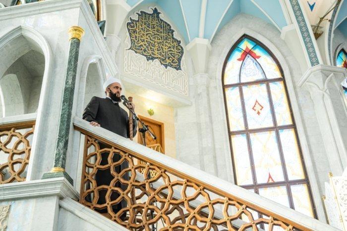 Камиль Самигуллин в мечети Кул Шариф.