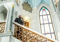 Муфтий Татарстана провел пятничный намаз в мечети Кул Шариф